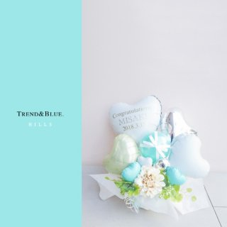 TiffanyBlue Hills Table top type ティファニーブルー