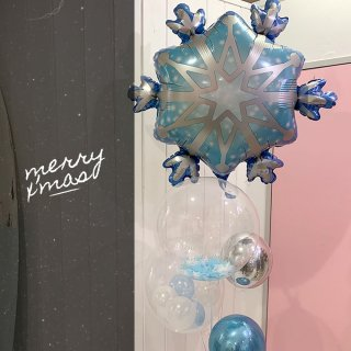 SNOW CRYSTAL BLUEver X'masバルーン クリスマス限定