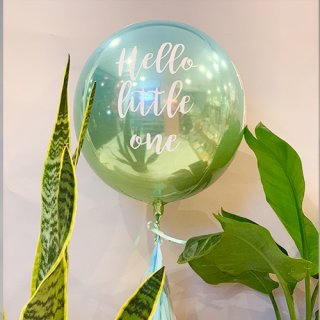 NobleBalloon float type-Hello little one-