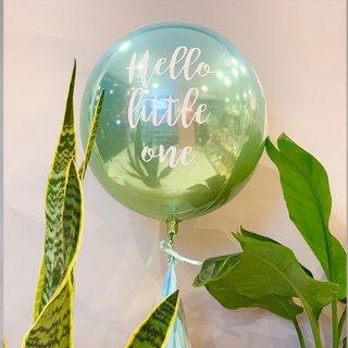 NobleBalloon float type-Hello little one-