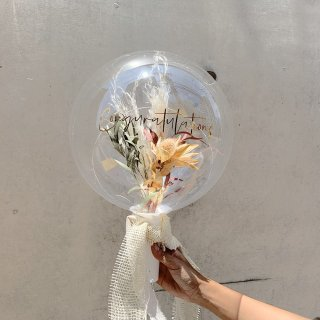 Flower Balloon Bouquet - Boho -フラワーバルーンブーケ