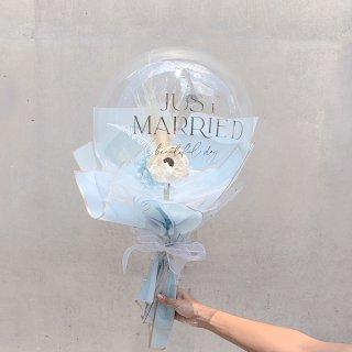 Flower Balloon Bouquet  - Large -フラワーバルーンブーケ