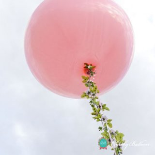 フリンジバルーン Crane Pink(カラー変更可能)