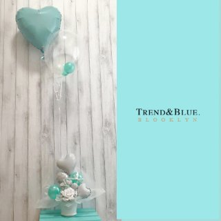 TiffanyBlue Brooklyn Height Float type & Table top type ティファニーブルー