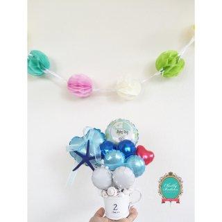 Seashell & Sea breeze Baby Shower Table top type