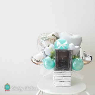 TiffanyBlue フォトフレーム付き Table top type