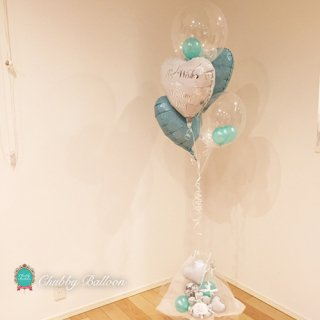 TiffanyBlue Brooklyn Height UP Float type & Table top type ティファニーブルー