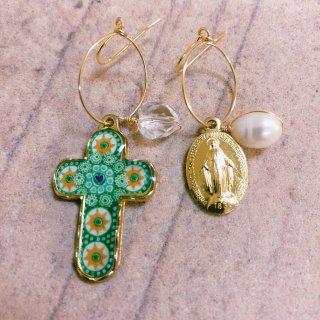 prière earring No1