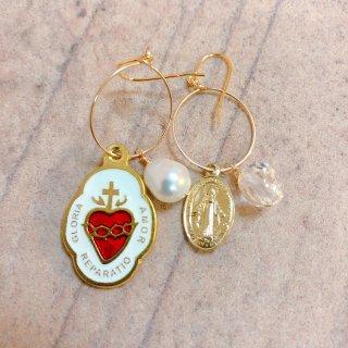 prière earring No2