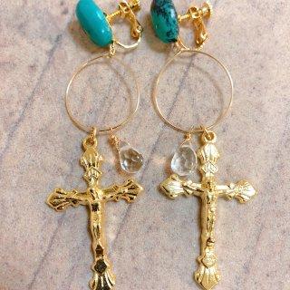 prière earring No17.