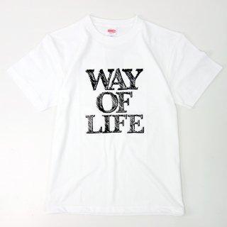 ☆先行予約 昭和の兄弟 WAY OF LIFE T shirts (WHT) ☆先行予約