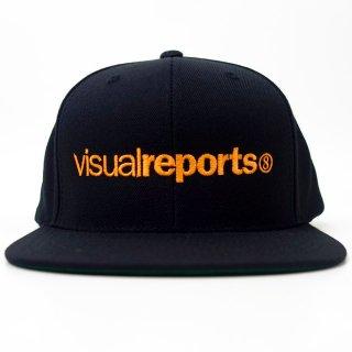 visual reports(ヴィジュアルレポート)|HIGRAID SNAPBACK CAP(ORENGE)