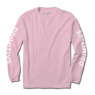 PRIMITIVE(プリミティブ)|BLOCK L/S TEE(PINK)