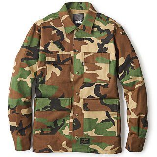 FTC -CAMO BDU SHIRT(woodland)