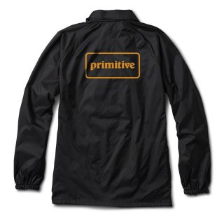 PRIMITIVE(プリミティブ)|GFL COACH JACKET(BLACK)