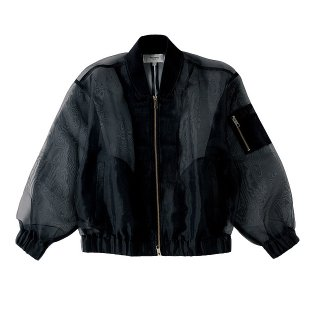 PARADOX(パラドックス) SEE THROUGH BLOUSON