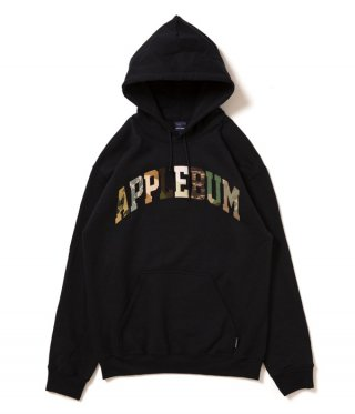 APPLEBUM(アップルバム)Camo Logo Sweat Parka [BLK]