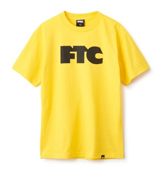 FTC  / FTC OG LOGO TEE (YEL)