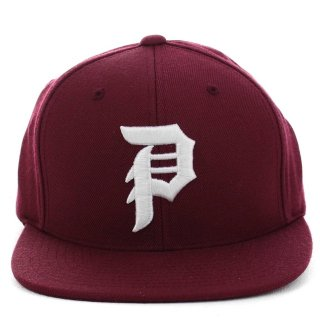 PRIMITIVE(プリミティブ)DIRTY P SNAPBACK (Burgundy)