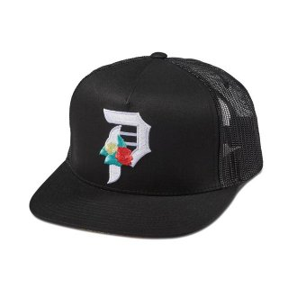 PRIMITIVE(プリミティブ)DOS FLORES TRUCKER (BLK)