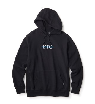 FTC - SF CITY PULLOVER HOODY (BLK)