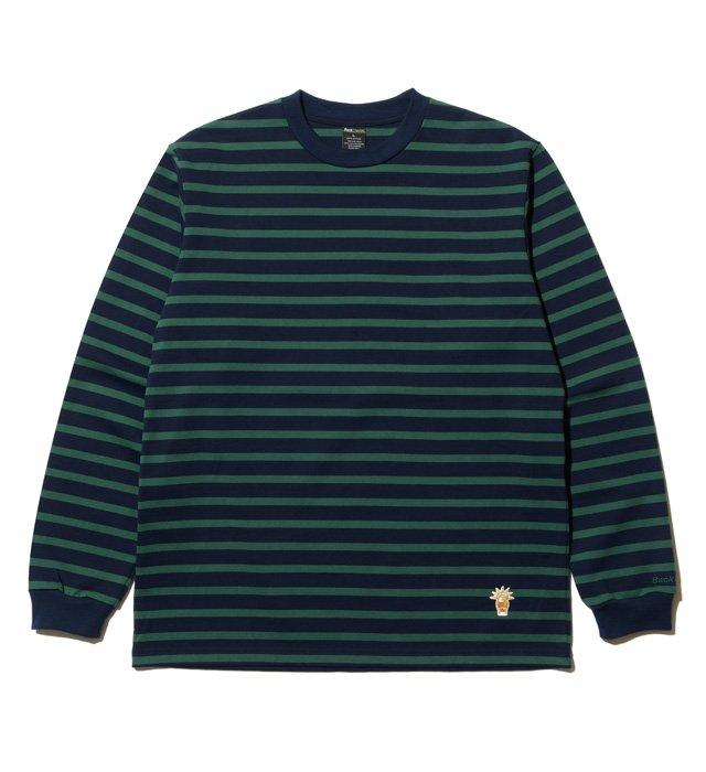 Backchannel(バックチャンネル)BORDER L/S T(GREEN)