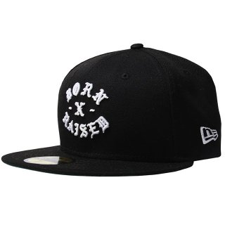 BORN X RAISED | NEW ERA FITTED ROCKER