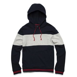 PRIMITIVE(プリミティブ)|LEAGUE PANELED HOOD (NAVY)