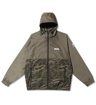Backchannel(バックチャンネル)NYLON HOODED JACKET (O.D)