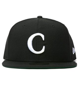 "CARROTS by Anwar Carrots (キャロッツ)""C"" NEW ERA 59/50 FITTED - BLACK"