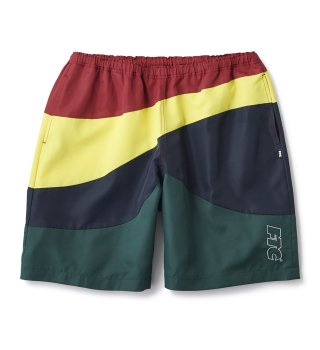FTC  / CURVE BEACH SHORTS (RED)