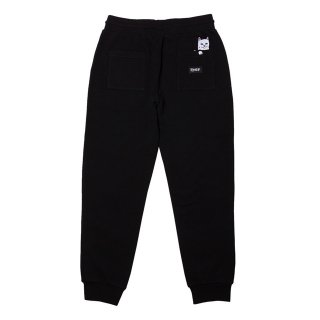 RIP N DIP (リップンディップ)Peek A Nermal Sweat Pants (Black)