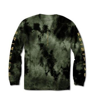 PRIMITIVE(プリミティブ)|MOODS WASHED LS Tee(military)