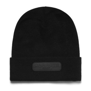 CARROTS by Anwar Carrots (キャロッツ)SPORT RUBBER PATCH BEANIE (BLK)