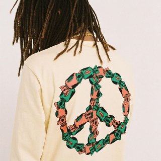 CARROTS by Anwar Carrots (キャロッツ)PEACE OF CANDY LONG SLEEVE (IVORY)