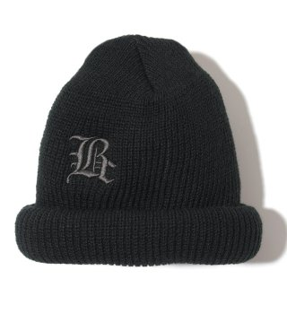 Backchannel(バックチャンネル) OLD-E WATCH CAP (BLK)