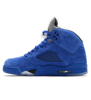 NIKE AIR JORDAN 5 RETRO  GAME ROYAL/BLACK