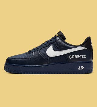 Nike Air Force 1 Low Gore-Tex   obsidian/white-black-off noir