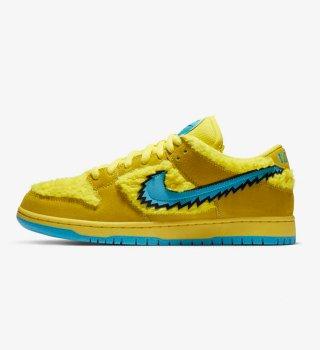 Nike SB Dunk Low Grateful Dead Bears Opti Yellow (店頭販売優先)