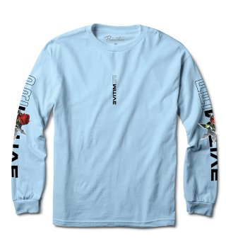 PRIMITIVE(プリミティブ) THREAT L/S TEE  (Powder Blue)