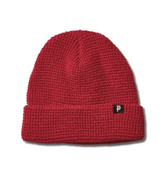 PRIMITIVE(プリミティブ)DIRTY P WAFFLE TWO-FER BEANIE (WINE RED)