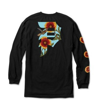 PRIMITIVE(プリミティブ) DIRTY P SUNFLOWER LS TEE (BLK)