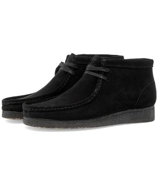 CLARKS ORIGINALS / WALLABEE ブーツ (ブラックスエード)