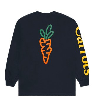 CARROTS by Anwar Carrots (キャロッツ) SIGNA TURE LS TEE (NAVY)