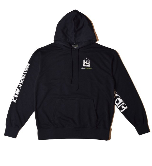 BackChannel(バックチャンネル) Back Channel × WDsounds PULLOVER PARKA(BLK)