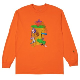 CARROTS by Anwar Carrots (キャロッツ)× LOONEY TUNES MACHINE LS TEE
