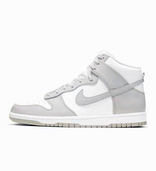 Nike DUNK HI RETRO WHITE/VAST GREY (店頭優先販売)