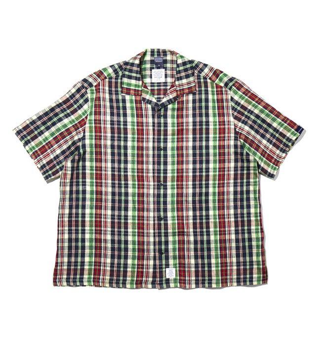 APPLEBUM(アップルバム) 90's Linen Check S/S Oversize Shirt