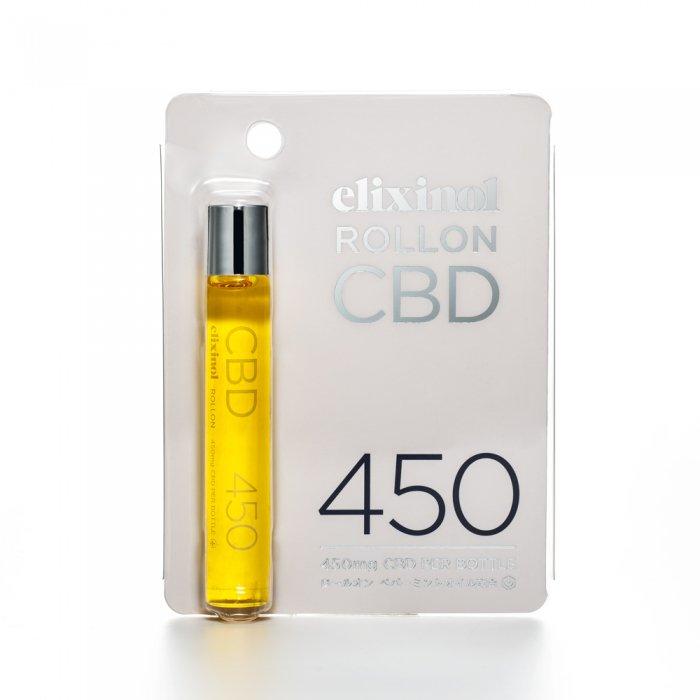 CBD Elixinol エリクシノール ロールオン 450