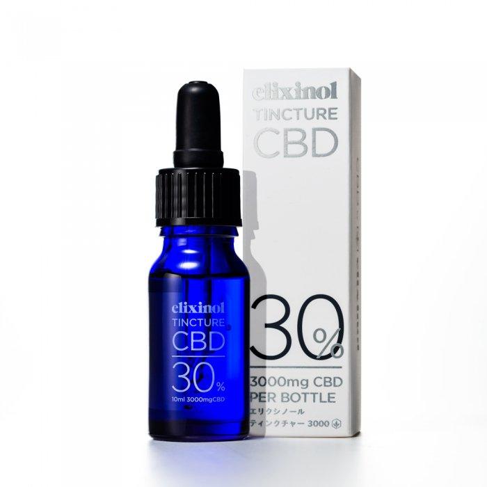 CBD Elixinol エリクシノール CBD ティンクチャー 3000
